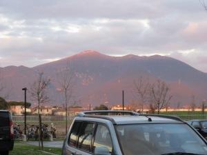Täna nägi Monte Pisano väga romantiline välja